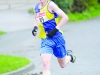 Shane Brady from Clones AC, who was 4th in the 10k. ©Rory Geary/The Northern Standard