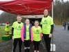 At the 5k in aid of the Kevin Bell Repatriation Fund were (L-R) Luke Markey, Tara Markey, Carla Lynch and Susan Lynch. ©Rory Geary/The Northern Standard
