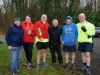 At the McKenna Family 5k in Rossmore Park in aid of the Kevin Bell Repatriation Fund were (L-R) Eamon Hackett, Sinead and Dermot McGuigan, Peadar Treanor, Barry Evans and Gabriel McAree. ©Rory Geary/The Northern Standard
