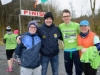 Pictured at the McKenna Famlly 5k in Rossmore Park were (L-R) Terry Treanor, MIchael McElroy, Aaron McElroy and Eleanor McElroy. ©Rory Geary/The Northern Standard