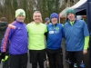 At the McKenna Family 5k in Rossmore Park in aid of the Kevin Bell Repatriation Fund were (L-R) Raymond Aughey, Robbie Gallagher, Lesley Crawford and Willie Cullen. ©Rory Geary/The Northern Standard