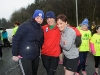 Taking part in the McKenna Family 5k for the Kevin Bell Repatriation Fund were (L-R) Martina Larmer, Brendan Barry and Emer McKenna. ©Rory Geary/The Northern Standard