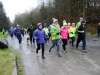 Some of the walkers starting the 5k in Rossmore Park in aid of the Kevin Bell Repatriation Fund. ©Rory Geary/The Northern Standard