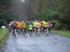 The runners starting the 5k in Rossmore Park which was organised by the McKenna Family in aid of the Kevin Bell Repatriation Fund. ©Rory Geary/The Northern Standard