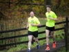 Paddy and Stuart Douglas finishing the McKenna Family 5k for the Kevin Bell Repatriation Fund. ©Rory Geary/The Northern Standard
