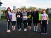 At the Kieran McAree Duathlon were (L-R) Colleen Magee, Aoife McAnespie, Emer McAnespie, Rachel McKenna, Carol Flood, Martina Flood, Charlotte Connolly and Ella Connolly. ©Rory Geary/The Northern Standard