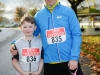 At the Kieran McAree Duathlon were (L-R) Aidan McElvaney and Raymond Aughey. ©Rory Geary/The Northern Standard