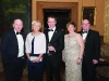 At the Monaghan Lions Club Charter Night were (L-R) Maurice Moffett, Pauline McVicar, Martin McVicar, Fern Ross and Alan Kilpatrick. ©Rory Geary/The Northern Standard