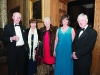 At the Monaghan Lions Club Charter Night in Castle Leslie were (L-R) Paul Flynn, Shiela Leonard, Ann Flynn, Mary Smith and Martin Leonard. ©Rory Geary/The Northern Standard