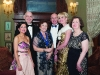 Margaret Geelan, President and members of the Omagh Lions Club at the Monaghan Lions Club Charter Night in Castle Leslie. (L-R) Pricilla and Declan O'Neill, Margaret and Denis O'Neill, Rosemary King and Mary Davis. ©Rory Geary/The Northern Standard