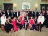 The members of the Monaghan Lions Club at the annual charter night, which was held in Castle Leslie. ©Rory Geary/The Northern Standard