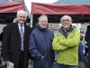 At the Monaghan 1916 commemorations were (L-R) Seamus Treanor, Tommy Donnelly and Gerry O'Toole. ©Rory Geary/The Northern Standard
