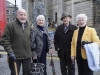 At the Monaghan 1916 commemorations were (L-R) Eugene and Margo McCabe, Prof Bob and Breda McDonald. ©Rory Geary/The Northern Standard