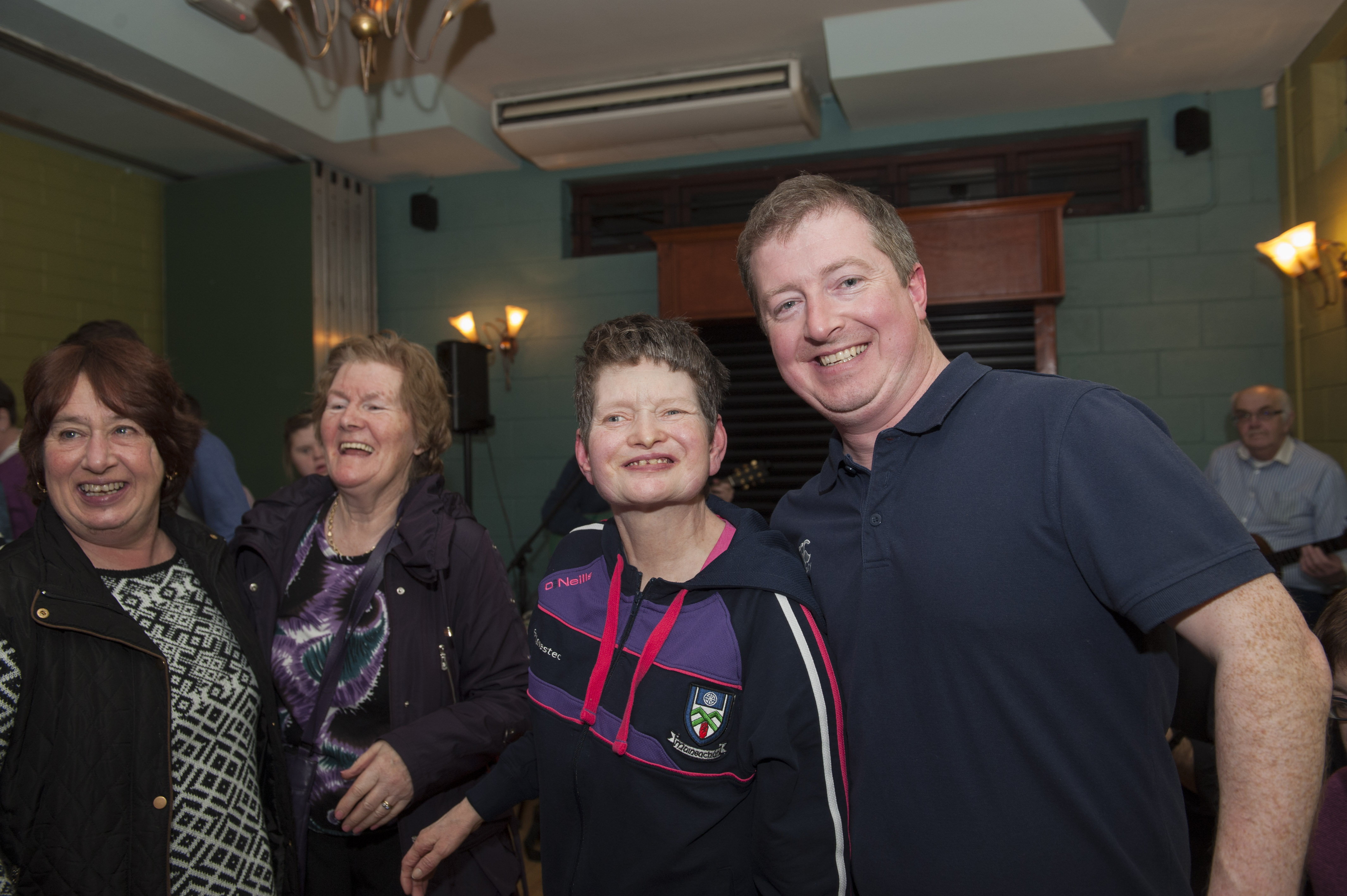Fiona Callan and Padraic Callan at the Monaghan Arch Club Party, when it was hosted by the Monaghan Harps GFC. ©Rory Geary/The Northern Standard