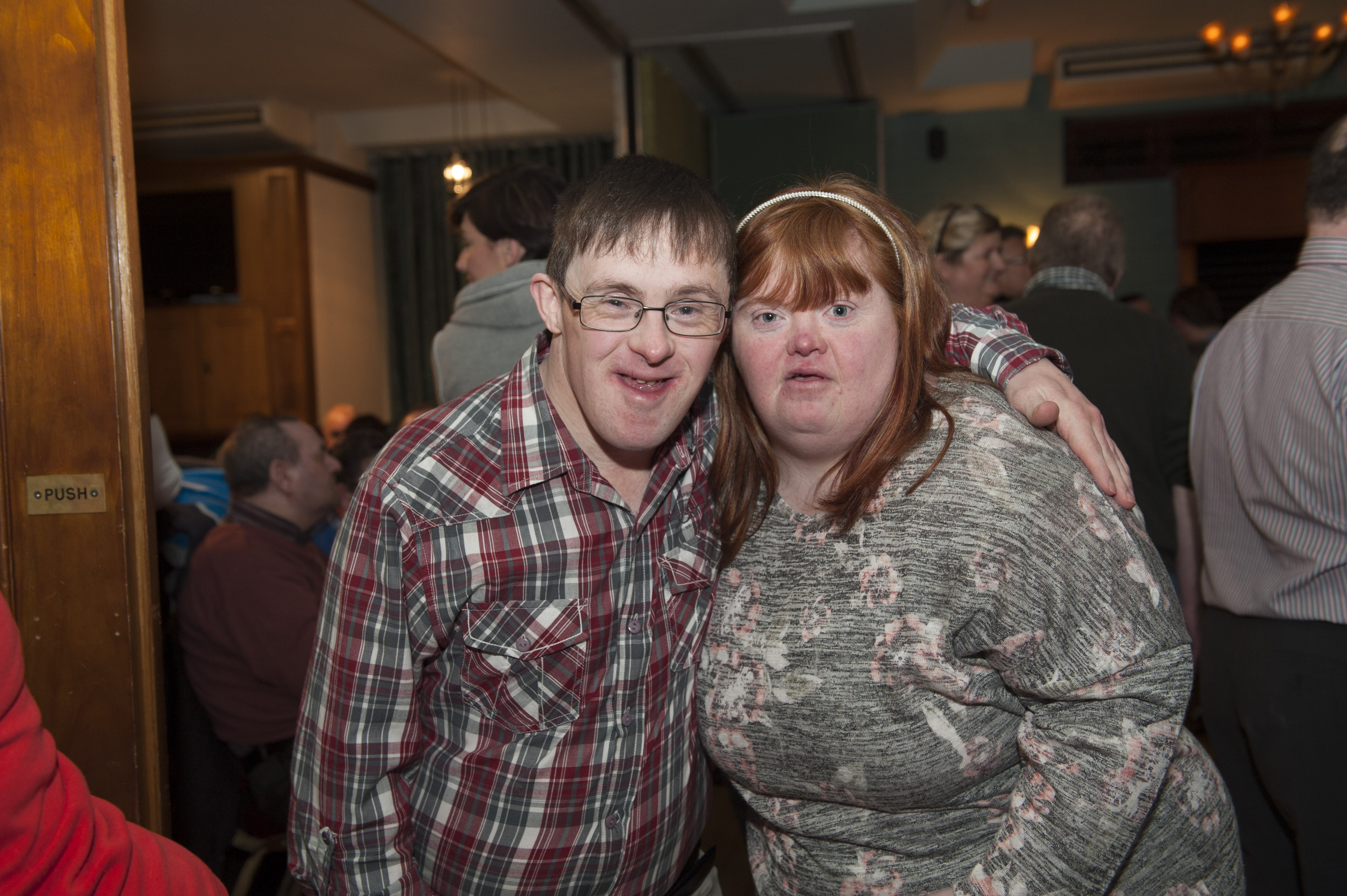Mark McCabe and Grace Baxter at the Monaghan Arch Club Party at the Monaghan Harps GFC. ©Rory Geary/The Northern Standard