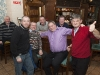 At the Monaghan Arch Club Party in the Monaghan Harps GFC were (L-R) Aidan Corrigan, Nigel McClave, Jimmy Croarkin, Padraig Kelly, Padraig Callan and Hugh Coyle. ©Rory Geary/The Northern Standard
