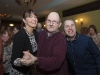 Darina Maloney-Moffett with Bernard Reilly and Stephen Boylan, at the party. ©Rory Geary/The Northern Standard