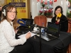 April Dinkin, Dinkin's Bakery, Monaghan, with Today FM presenter, Alison Curtis, during her broadcast from The Westenra Hotel. ©Rory Geary/The Northern Standard