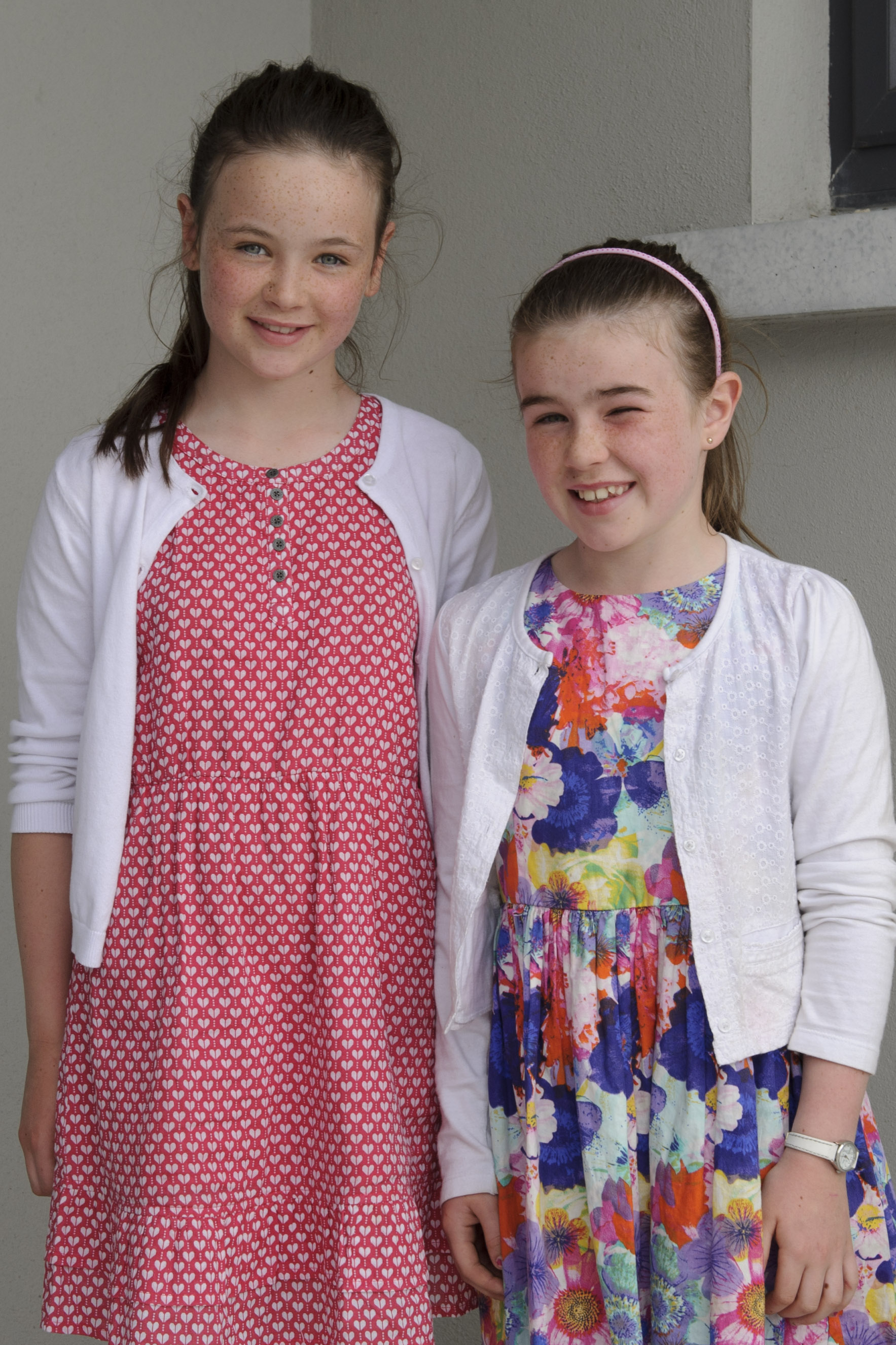 Roisin and Katie Lennon, Aughnamullen CCE, who were 3rd in the duet. ©Rory Geary/The Northern Standard