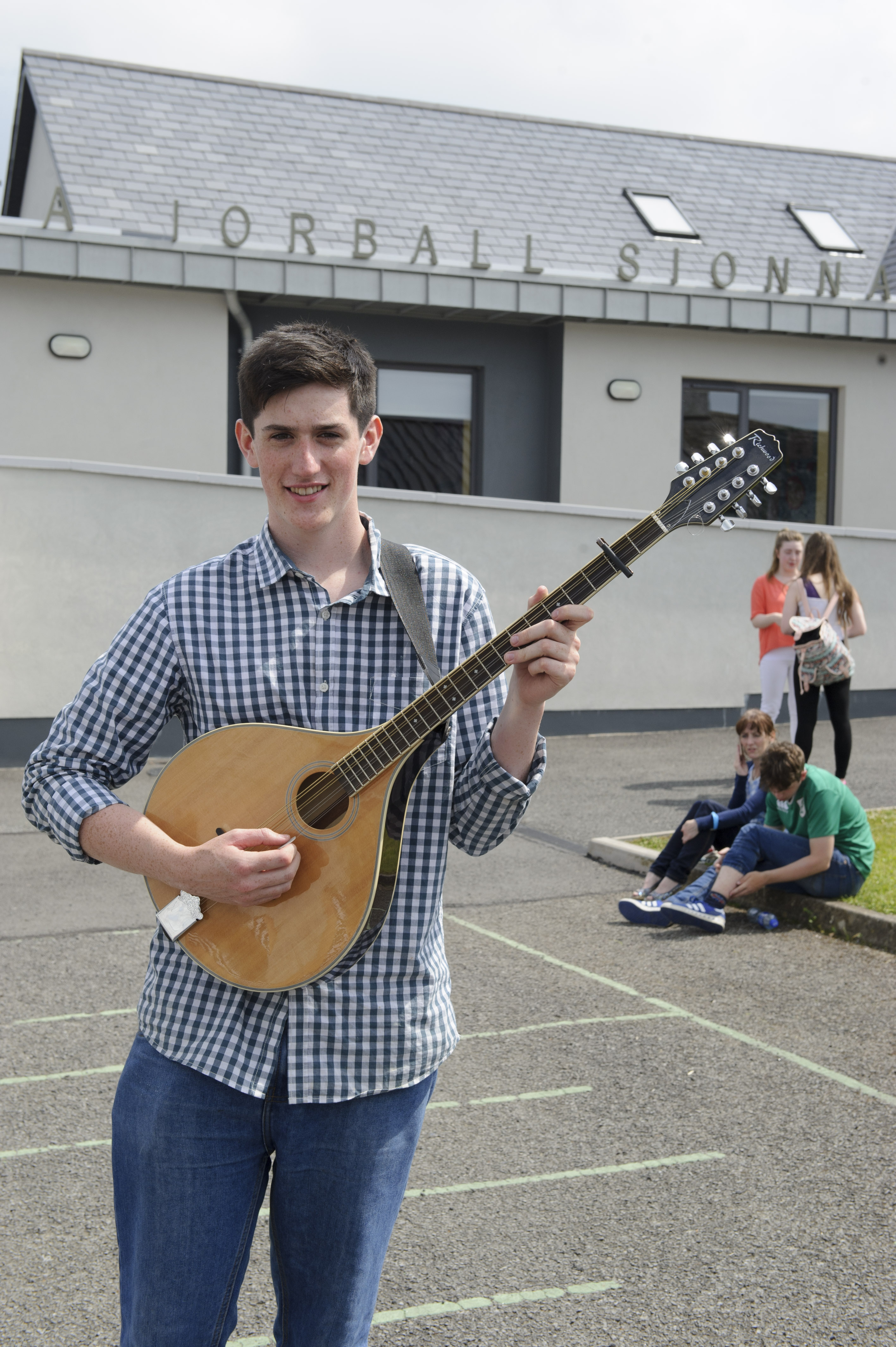 James Finnegan, Carraig Mhachaire Rois CCE, who was the winner of the U-18 Miscellaneous. ©Rory Geary/The Northern Standard