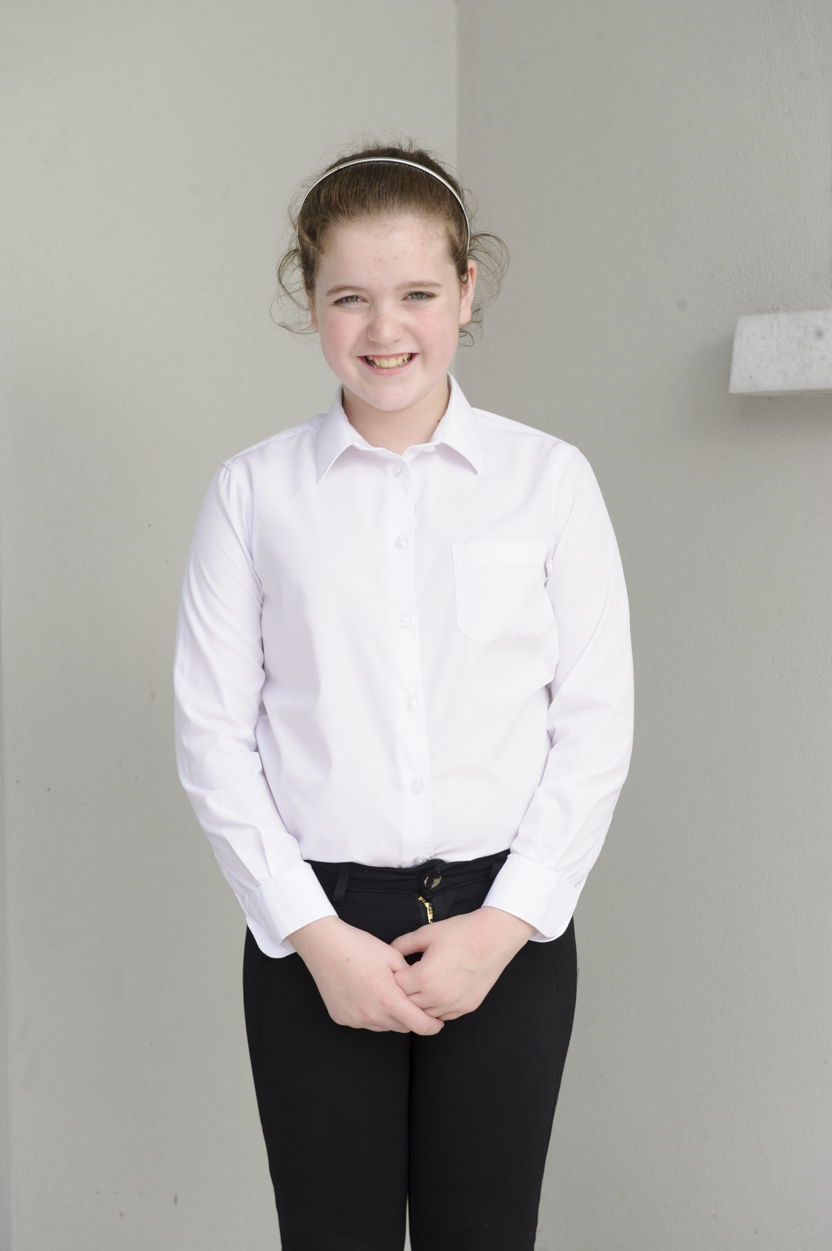 Donna Tracey, Tullycorbet CCE, who was 2nd in the U-15 Button Accordion and also sent through to Ulster in the U-13 Comhrá Gaelige. ©Rory Geary/The Northern Standard