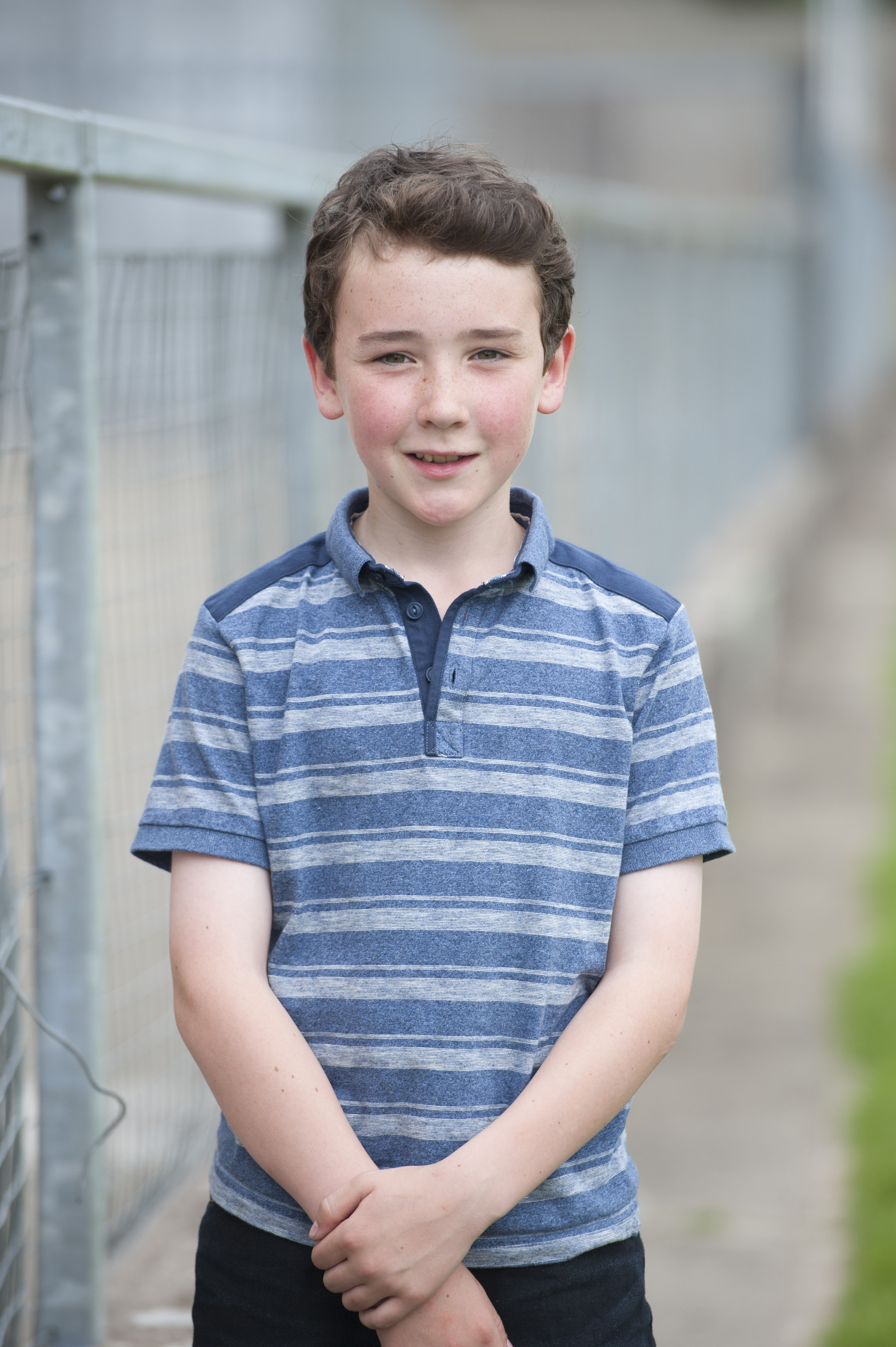 Ciaran Maguire from Corcaghan CCE, who was the winner of the U-12 Tin Whistle, 2nd in Bodhrán and 3rd in the Accordion. ©Rory Geary/The Northern Standard