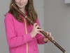 Erica McDonald, Baile Mhuineacháin CCE, who was the winner of the U-12 Flute competition. ©Rory Geary/The Northern Standard