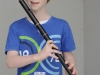 Conor Curran, Tullycorbet CCE, who was the winner of the U-12 Flute Slow Air and 2nd in the Flute. ©Rory Geary/The Northern Standard