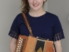 Keva Morgan, Aughnamullen CCE, winner of the U-18 Button Accordion competition. ©Rory Geary/The Northern Standard