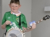 Oisin Reilly, Baile Mhuineacháin CCE, who was the winner of the U-12 Mandolin, Drums and 2nd in the Banjo competition. ©Rory Geary/The Northern Standard