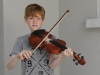 Ruadhán Curran from Tullycorbet CCE, who was 2nd in the U-15 Fiddle Slow Air. ©Rory Geary/The Northern Standard