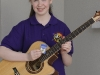 Leah Reilly, Baile Mhuineacháin CCE, who was winner of the U-15 Guitar, 2nd in the Trio and 3rd in the Button Accordion. ©Rory Geary/The Northern Standard