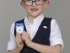 6 Year Old Daithí McCormack, from Emyvale CCE, who was the winner of the U-12 Lilting competition. ©Rory Geary/The Northern Standard