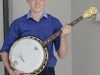 Brendan Mallon, Aughnamullen CCE, who was the winner of the U-15 Banjo and Mouth Organ competitions. ©Rory Geary/The Northern Standard