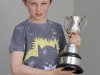 Ethan McCarren, Baile Mhuineacháin CCE, winner of the U-12 English Singing. ©Rory Geary/The Northern Standard