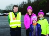 Pictured at the Monaghan Operation Transformation Walk last Saturday morning were (L-R) Shane Caulfield, Monaghan Sports Partnership, Antoinette, Hanna and Emily Sherry. ©Rory Geary/The Northern Standard