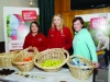 With some of the fresh fruit that was sponsored for the Monaghan Operation Transformation walk, at the walk last Saturday morning was Michelle Murphy, right, Monaghan Sports Partnership, with Lauren McHugh and Roisin McCarey, Flemings Super-Valu. ©Rory Geary/The Northern Standard