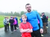 At the Monaghan Phoenix AC Goal Mile on St Stephen's Day were Kieran Lappin and Aaron McKenna-Lappin. ©Rory Geary/The Northern Standard