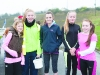 Some of the participants in the Monaghan Phoenix AC Goal Mile on St Stephen's Day at the event. ©Rory Geary/The Northern Standard