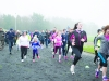 Some of the runners at the start of the Monaghan Phoenix AC Goal Mile. ©Rory Geary/The Northern Standard