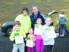 Members of the McCianna family who all participated in the Monaghan Phoenix AC Goal Mile on St Stephen's Day. ©Rory Geary/The Northern Standard