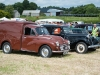 A vintage Morris Minor van on display. ©Rory Geary/The Northern Standard