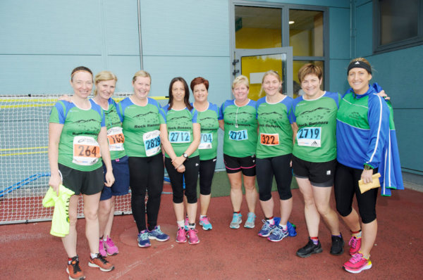 Some of the members of the Rock Runners from Derrylin at the Monaghan 10 Miler. ©Rory Geary/The Northern Standard