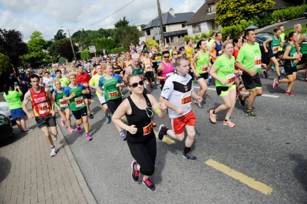 Some of the runners starting the Monaghan 10 Miler last Sunday. ©Rory Geary/The Northern Standard