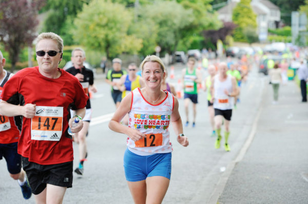 Natalie Bowbanks during the Monaghan 10 Miler. ©Rory Geary/The Northern Standard