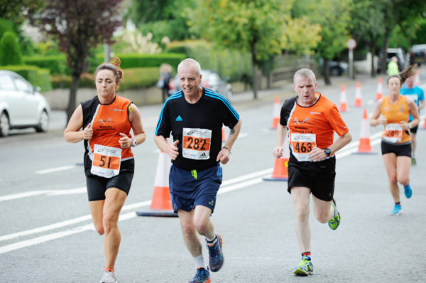 Some if the runners taking part in the Monaghan 10 Miler last Sunday. ©Rory Geary/The Northern Standard