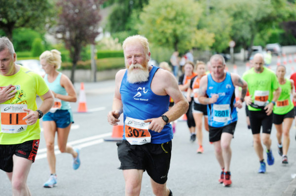 John Sinton during the Monaghan 10 Miler. ©Rory Geary/The Northern Standard