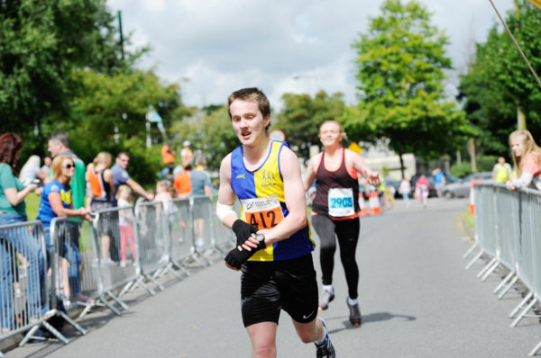 Shane Brady, Clones AC, who was 6th in the Monaghan 10 Miler. ©Rory Geary/The Northern Standard