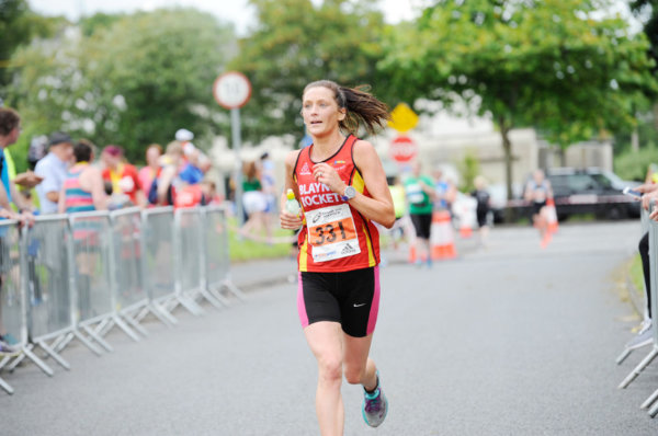 Nicola Flanagan from Blayney Rockets, as she finished the Monaghan 10 Miler in 2nd Ladies place. ©Rory Geary/The Northern Standard