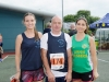At the Monaghan 10 Miler were (L-R) Mary Donaghy, Pat McCrea and Karen Feeney from Tyrone. ©Rory Geary/The Northern Standard